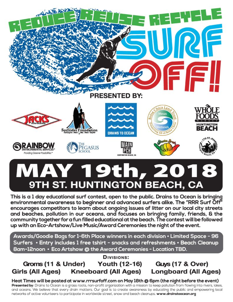 2018 RRR Surf Off Entry Form – Download here! | Reduce Reuse Recycle